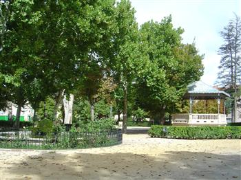 jardines de la alameda, Sigüenza