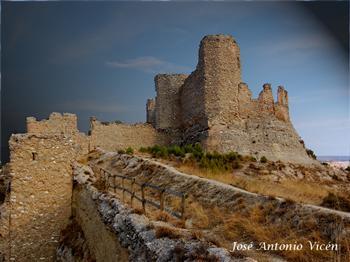Fotos im genes paisajes fotograf as de calatayud zaragoza - Castillo de ayud ...